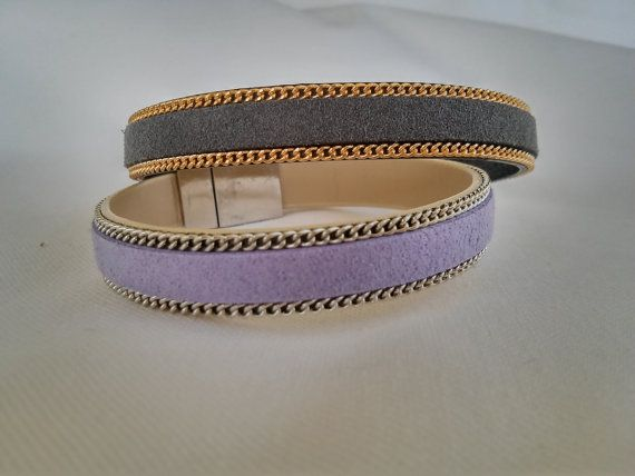 https://www.etsy.com/listing/214951694/suede-bracelet-with-gold-or-silver-tone