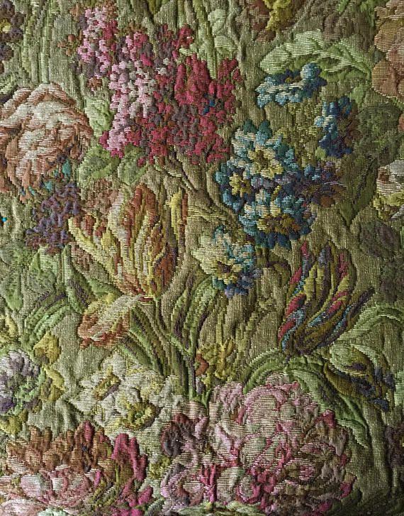 Antique Tapestry Fabric Photos