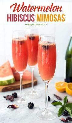 Refreshing watermelo Refreshing watermelon tart hibiscus tea...  Refreshing watermelo Refreshing watermelon tart hibiscus tea OJ and champagne make for the perfect summer brunch beverage: Watermelon Hibiscus Mimosas! Even better in these break-resistant Lenox glasses #vegan #allergenfriendly #brunch #lenoxusa #ad #drinks Recipe : http://ift.tt/1hGiZgA And @ItsNutella  http://ift.tt/2v8iUYW