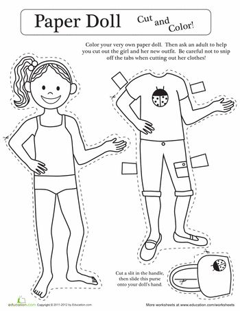 21 best worksheets images on pinterest paper dolls dresses preschool ideas and preschool. Black Bedroom Furniture Sets. Home Design Ideas