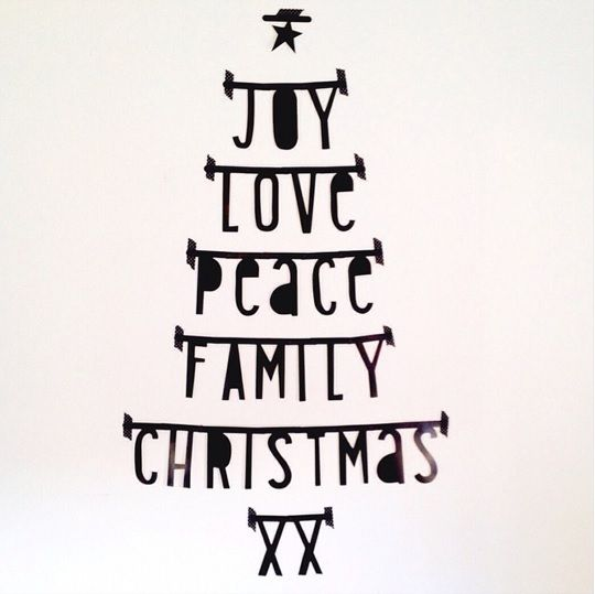#Wordbanner #tip: #Joy #Love #Peace #Family #Christmas - Buy it at www.vanmariel.nl - € 11,95