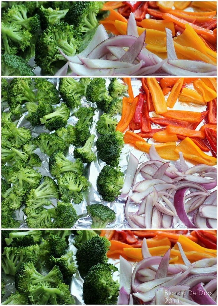 Ensalada de Vegetales Asados al horno.