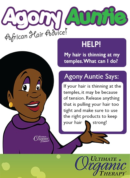 Agony Auntie is helping out with African hair! Do you have a question for Agony Auntie?