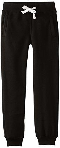 Southpole Big Boys' Boys Active Basic Jogger Fleece Pants Black Large
