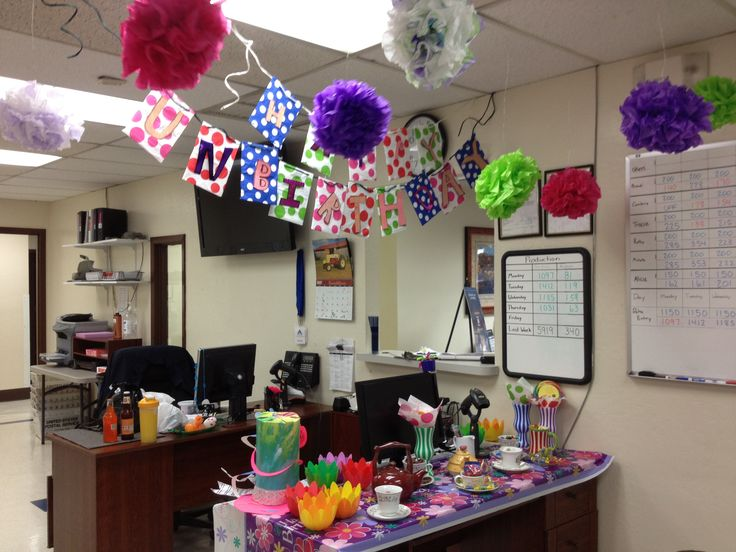 12 best images about office birthday decorations on pinterest