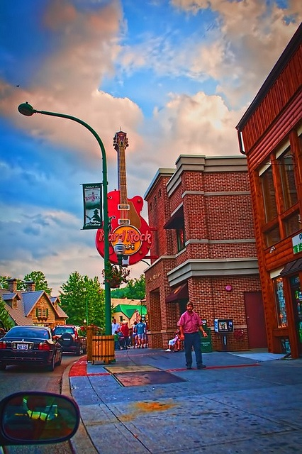 Hard Rock Café, Gatlingburg TN