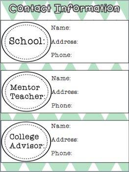 STUDENT TEACHING BINDER EDITABLE - TeachersPayTeachers.com