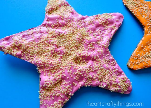 I HEART CRAFTY THINGS: Puffy Paint Starfish Craft for Kids