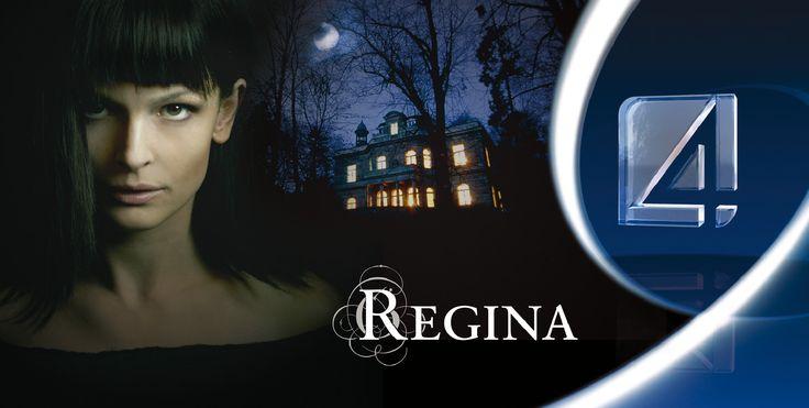 """Plakat do serialu """"Regina"""" w reżyserii Teresy Kotlarczyk, projekt: Studio Zakład, www.zaklad.pl"""