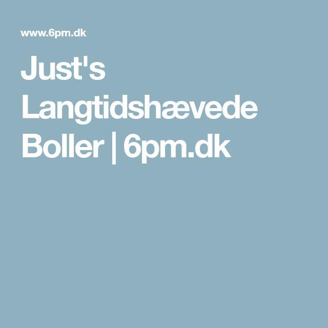 Just's Langtidshævede Boller | 6pm.dk