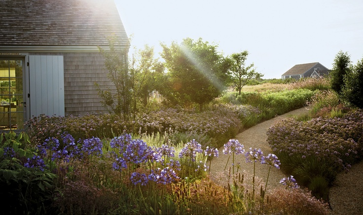 Private Garden Nantucket Piet Oudolf Pinterest