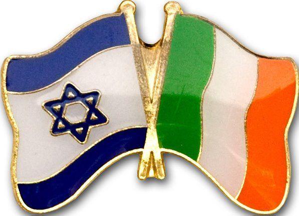 Israel Ireland Flagpin