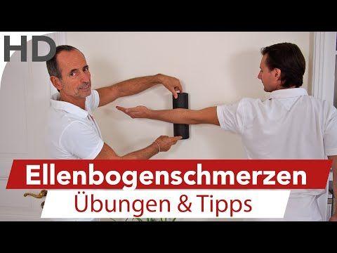 BLACKROLL - Übungen gegen Golfarm / Tennisarm - Schmerzen Golf Tennis - YouTube