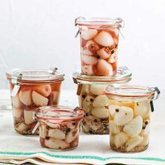 Pickled Garlic Cloves Recipe - Pickled garlic? You bet! This simple pickled garlic clove recipe is made by adding whole peeled garlic cloves to a flavorful brine. Use almost any type of clear vinegar—white, red or cider vinegar. Serve as part of an antipasti spread or chop and add to pasta salad, vinaigrettes or stir-fries. Use the freshest garlic you can find to make the best pickles.
