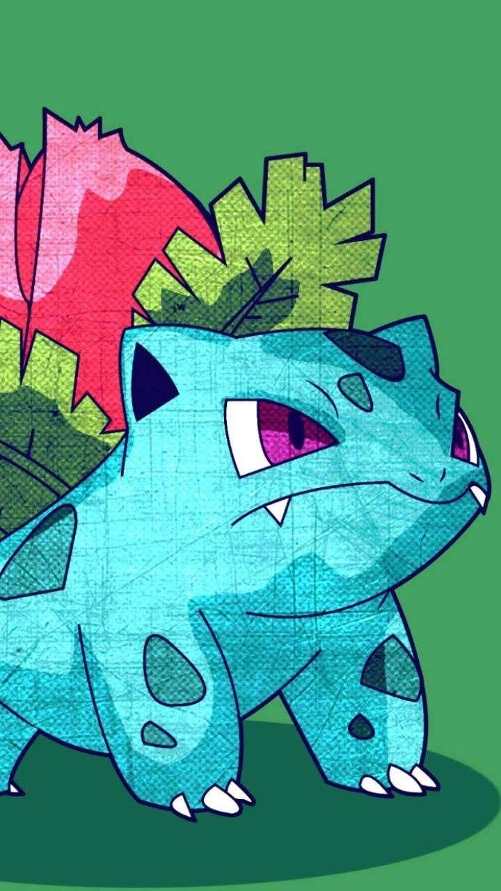 Ivysaur Pokemon Dark Pokemon Pokemon Bulbasaur Pokemon Poster