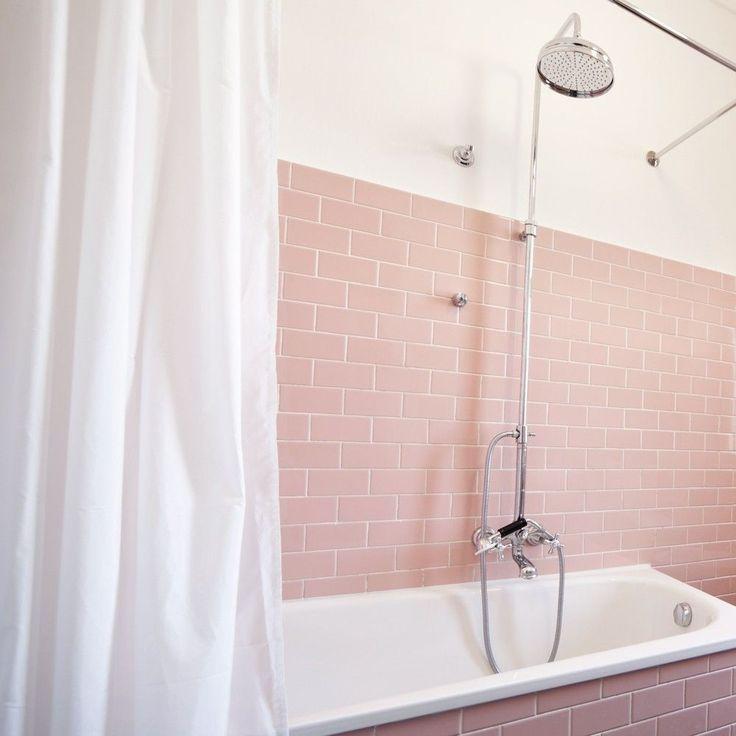best 20 pink tiles ideas on pinterest. Black Bedroom Furniture Sets. Home Design Ideas