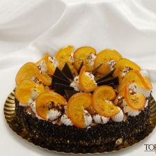 Orange Chocolate Cake (Zila Cube Mold)