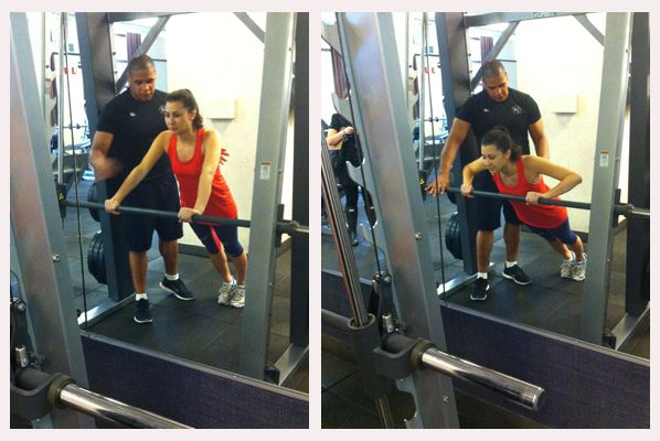 Personal Trainer Tips: The Smith Machine Helps Women  With Push-Ups