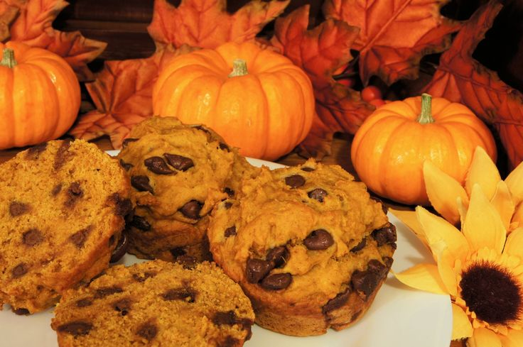 Perfectly Simple Fall Dessert: Pumpkin Chocolate Chip Muffins