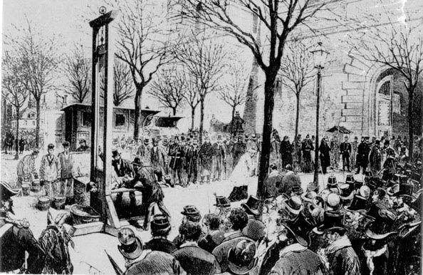 Une guillotine à Paris