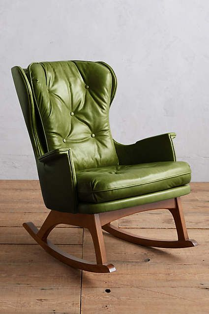 ... Leather Finn Rocking Chair  Rocking Chairs, Home Furniture and Chairs