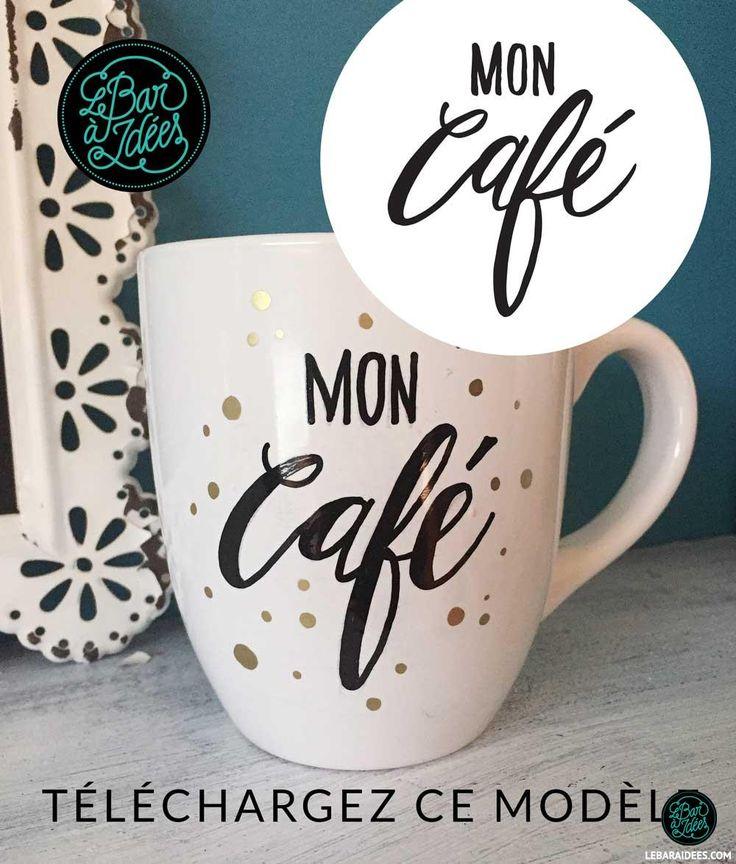 Que vous soyez caféinomane comme moi, ou plus de type thé, vous possédez sûrement une panoplie de tasses! Mais quoi de mieux que d'avoir SA tasse. Celle que vous sortez le matin avec l'envie de vous verser un bon café chaud. J'adore les trucs personnalisés et j'ai eu envie de me créer une belle tasse