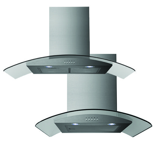 The new BCG60 & BCG90 curved glass Belling range hoods will add a touch of sophistication to any kitchen. Beautiful stainless steel finish, 3 fan speeds, push button controls and an air extraction of 800m3/h... make a statement now