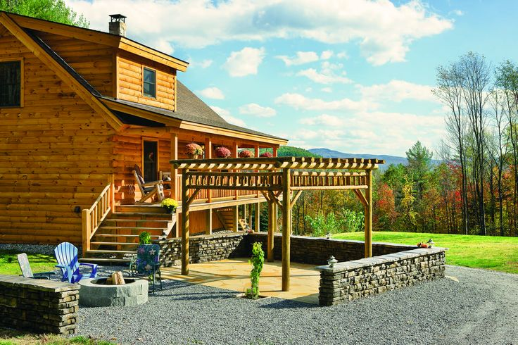 1000 ideas about modular log homes on pinterest prefab for Log cabin kits knoxville tn