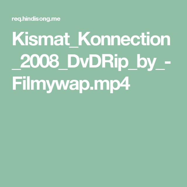 Kismat_Konnection_2008_DvDRip_by_-Filmywap.mp4