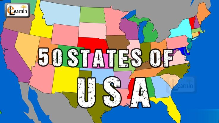 50 States | States Song | Fifty States of USA song | 50 states of America in alphabetical order | elearnin
