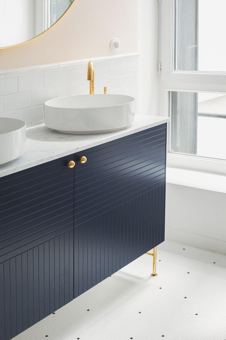 230 best bathroom salle de bain images on pinterest for Photo renovation maison ancienne