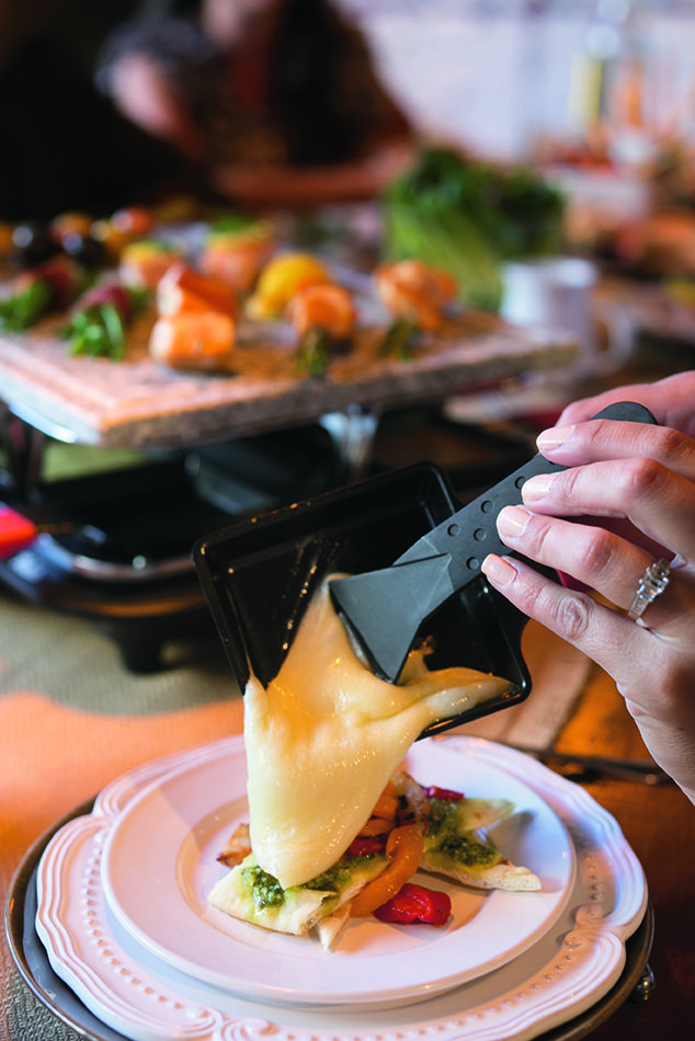 Consider mixing things up this Thanksgiving by gathering your friends and family around the Velata Raclette!