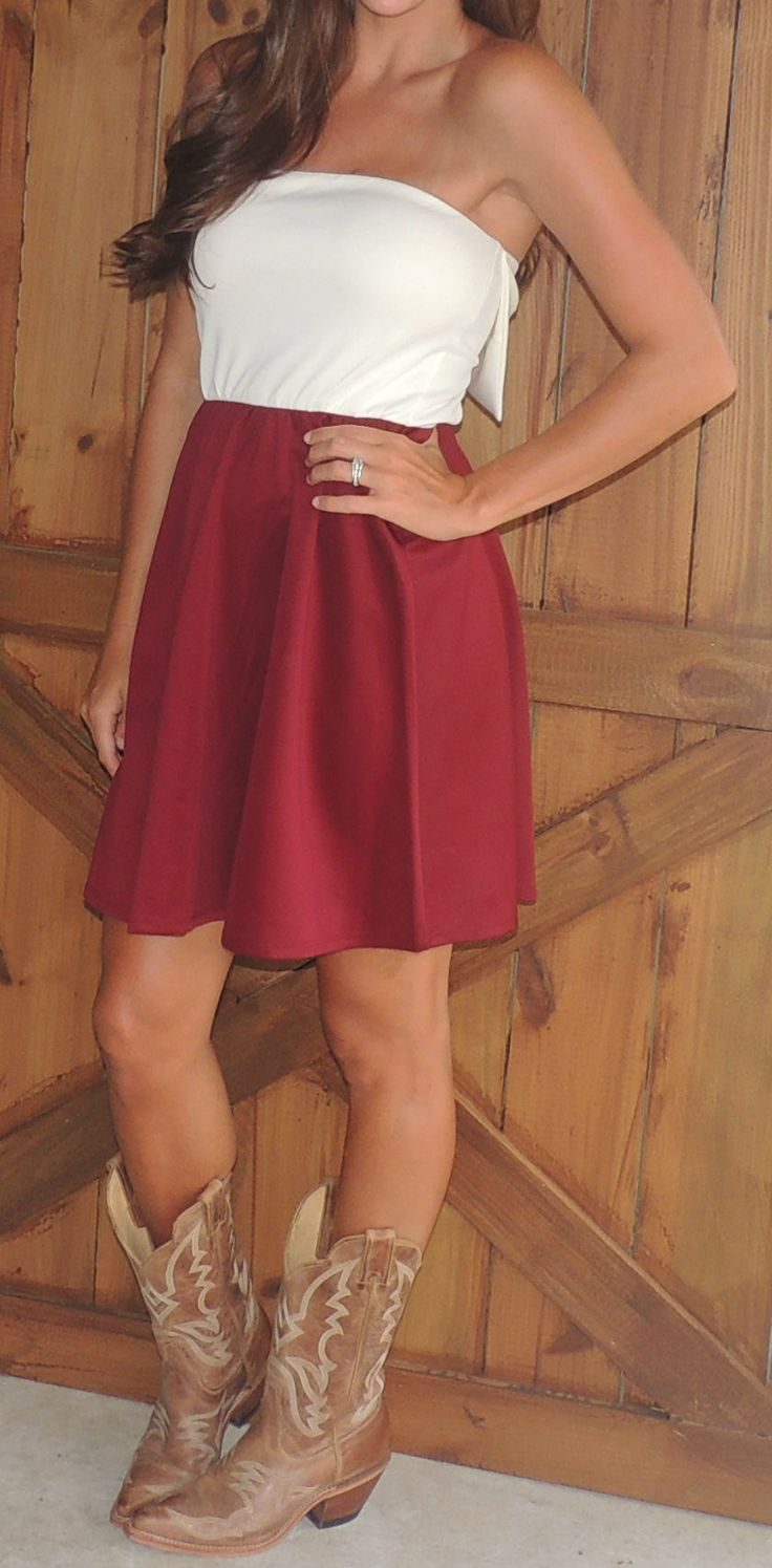 Game Day Bow Back Dress #ShopMCE - curious if this could fly as a bridesmaid dress?