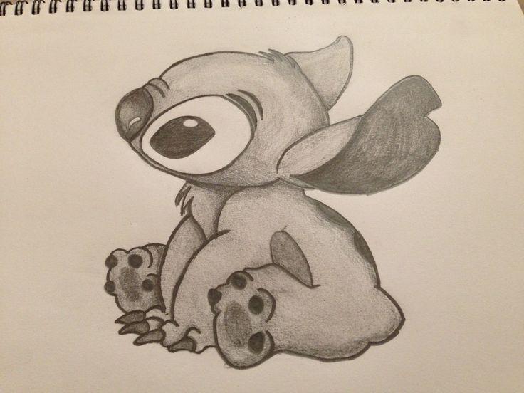 Stitch Sketch By Toriasecrets Scribbles Pinterest