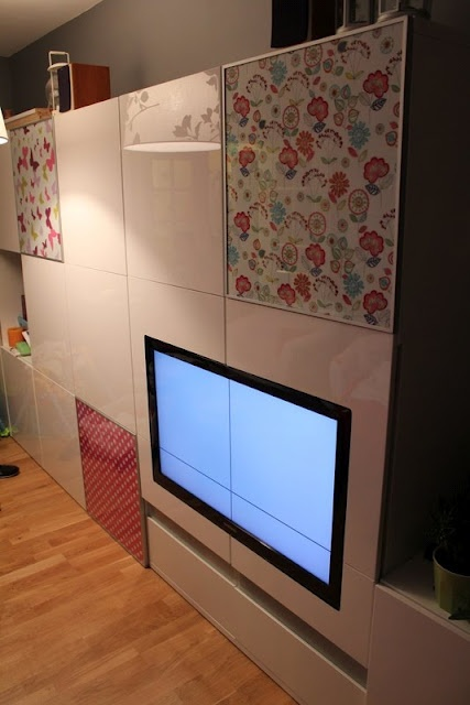 IKEA Hackers: Waooouu! How did you find a TV that fits perfectly with Besta?