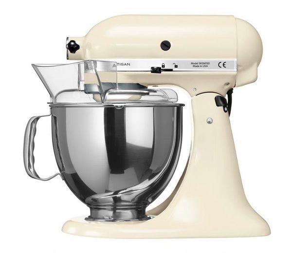 KITCHENAID 5KSM150PSBAC Artisan Stand Mixer - Almond Cream