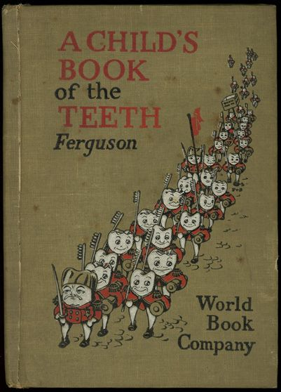 I think if I had this book as a child, I'd have been even more terrified of tooth related stuff than I already am.