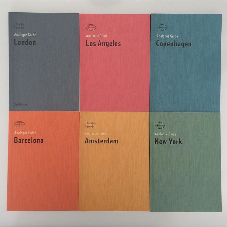 NOW IN STOCK the fantastic pocket size Analogue Guides $21.95 for #losangeles #barcelona #amsterdam #newyork #london #copenhagen #travelguide