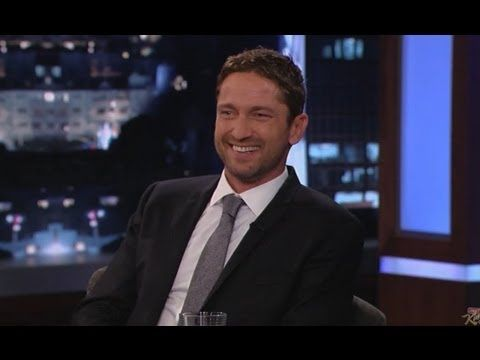 Jimmy Kimmel Live - The first part of Jimmy's interview with Gerard Butler    Jimmy Kimmel Live's YouTube channel features clips and recaps of every episode from the late night TV show on ABC.    Subscribe for clips from the monologue, the interviews, and musical performances every day of the week. Watch your  favorites parts again, or catch-up on an...