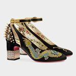 ¿Son #zapatos o son obras de arte? Solo los diseños de @gucci nos hacen dudar. Su precio, 1.290 euros. . #trendencias #moda #fashion #shoe #shoes #zapatos #tendencias #trends #gucci #design #style #