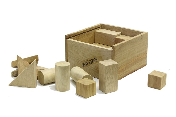 Our kid's wooden blocks are ideal early learning aides .....