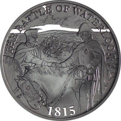 5 Pfund Silber Schlacht von Waterloo PP