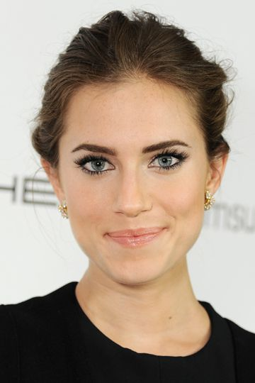 It's ok to wear slightly more makeup than you normally would - a little accented eye makeup will really pop!