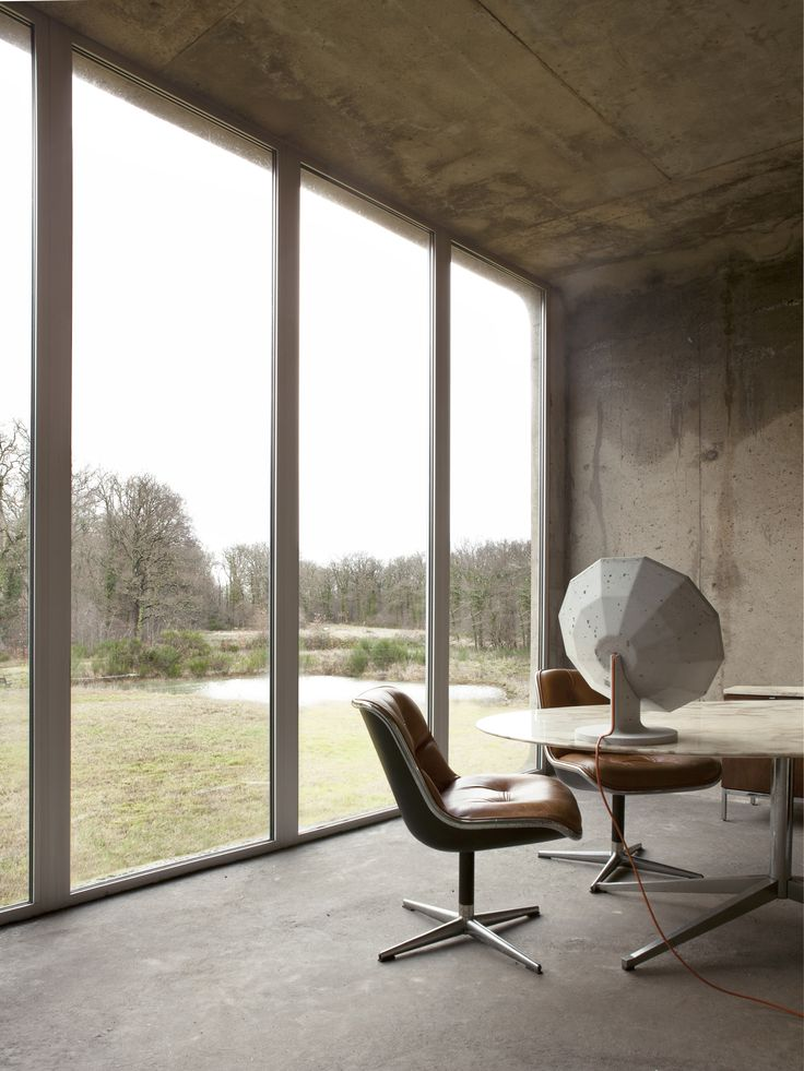 "Concrete Lamp ""Point de suspension"" Design: Matali Crasset"