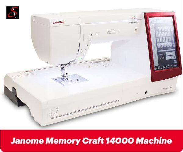 Janome Memory Craft 14000 Best Embroidery Machine For Professionals 2020 Commercial Embroidery Machine Machine Embroidery Best Embroidery Machine