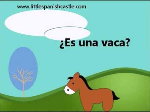 Spanish Vocabulary - Farm Animals / Los animales de la granja