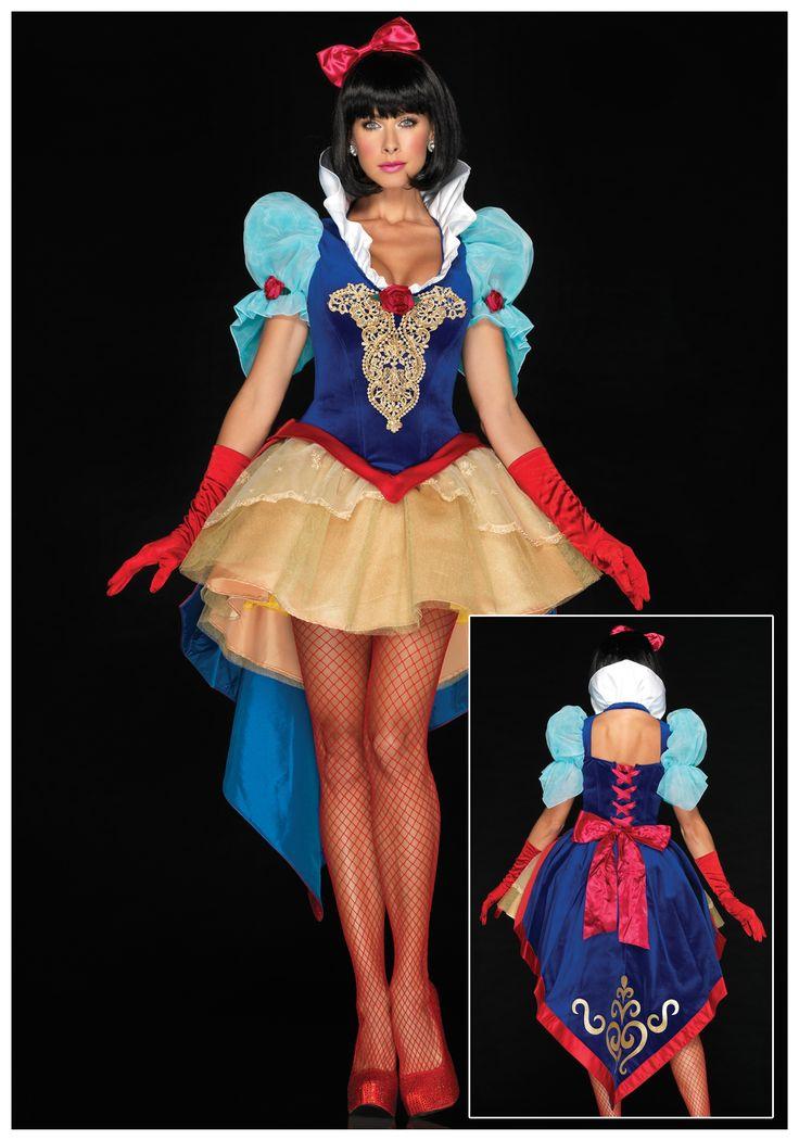 Deluxe Sexy Snow White Costume