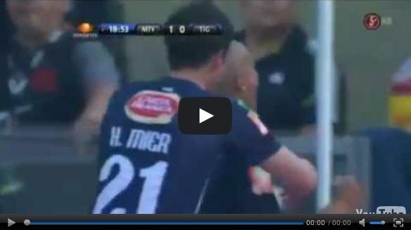 Vídeo del resumen y goles entre Monterrey vs Tigres partido de ida de los Cuartos de Final de la Liga MX Clausura 2013. Marcador Final: Monterrey 1-0 Tigres.