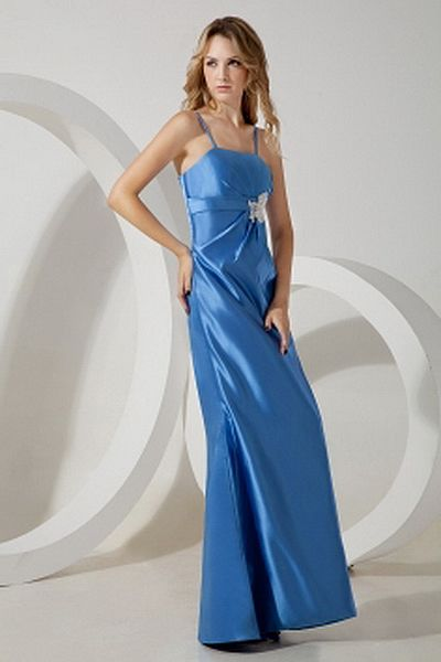 Satin Blue A-Line Celebrity Dress ted1475 - SILHOUETTE: A-Line; FABRIC: Satin; EMBELLISHMENTS: Applique , Crystal; LENGTH: Floor Length - Price: 154.3200 - Link: http://www.theeveningdresses.com/satin-blue-a-line-celebrity-dress-ted1475.html