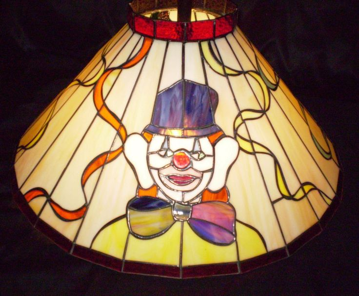 48 best Stained Glass - Clowns images on Pinterest | Clowns ...